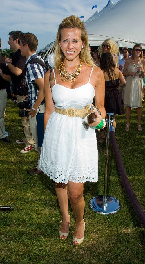 Desperate Housewives Fashion At Bridgehampton Polo