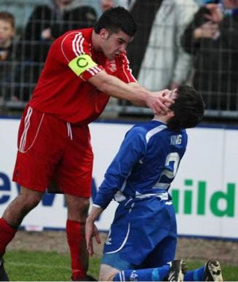That's Got To Be At Least A Yellow Card