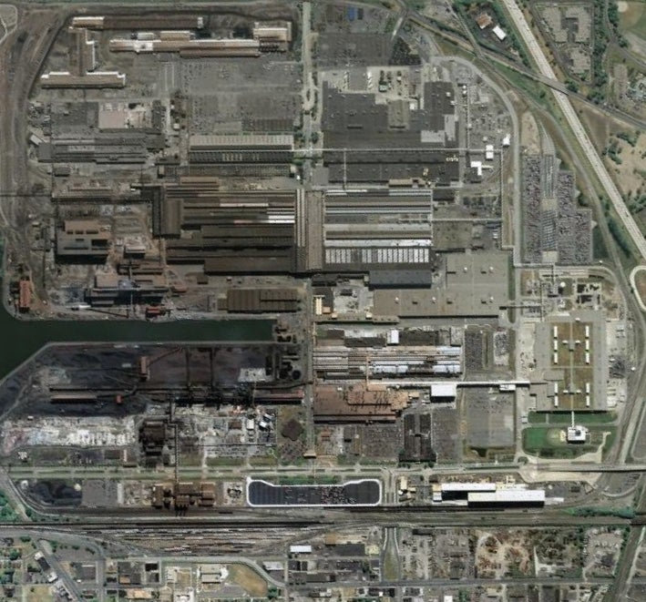 Ford River Rouge Plant Roof Collapses?