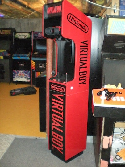 The Virtual Boy Arcade Cabinet that Never Existed