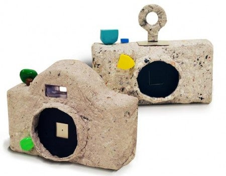 Don't Use This Recycled Paper Camera in the Rain