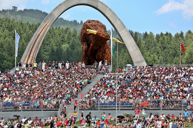 German GP attracts record low crowd, not clear why exactly