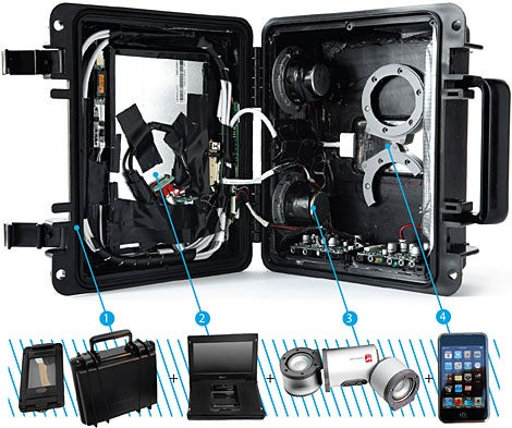 Build Your Own Waterproof iPod Video Boombox