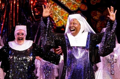 Whoopi's Sister Act Now Comes With Bonus Sparkles