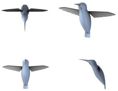 "Pentagon's Robot Hummingbird Christened ""Nano Air Vehicle"""
