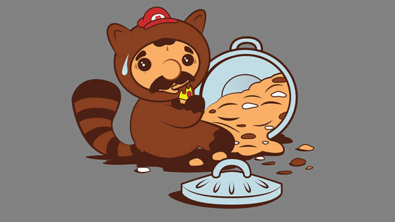 7/28/2014: Tanooki Mario Caught Red-Handed