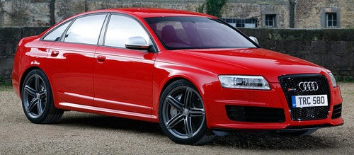 Audi RS6 plus Sport, plus Audi exclusive: When A 580 HP V10 Just Isn't exclusive Enough