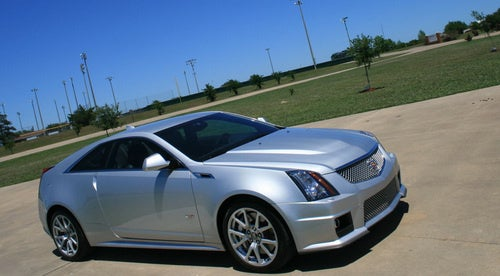 Cadillac CTS-V Coupe: Exterior Photos