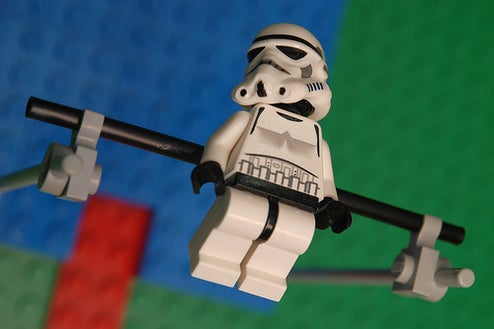 Lego Scenes Celebrate 2008 Olympic Summer Games with Star Wars Stormtroopers