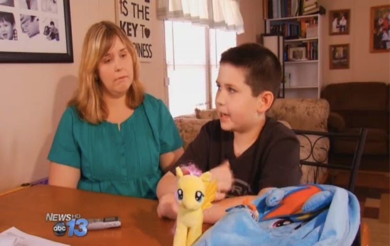 School Bans Bullied 9-year-old From Carrying My Little Pony Lunchbag