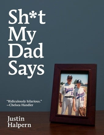 "Come Chat With ""Shit My Dad Says"" Author Justin Halpern Tomorrow At 2pm EST"