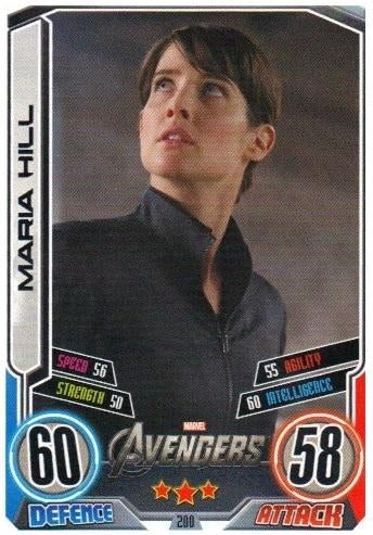 Avengers Trading Cards