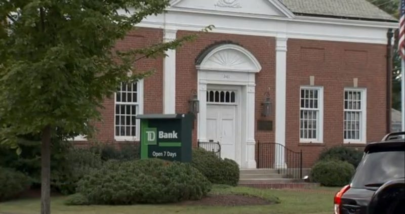 Bank Customer Arrested for Warning Teller About a Man with a Gun