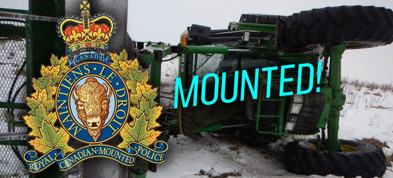 Canadian Mounties Use Hope To Stop A Stolen Tractor