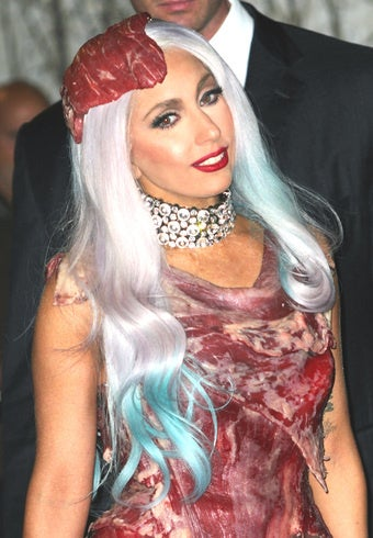 Butchers Lament Poor-Quality Meat in Gaga's Dress