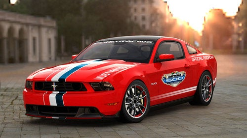 2011 Ford Mustang GT Daytona 500 Pace Car: Redder, Not Just Better