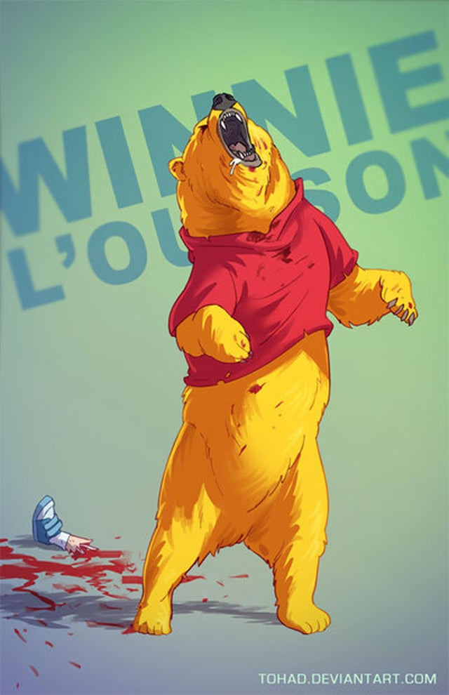 If Classic Childhood Characters Were Badass Lunatics