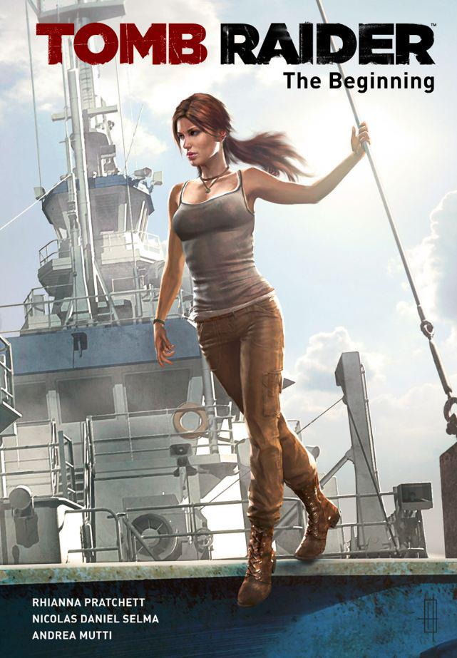 The Tomb Raider Prequel Comic Puts Lara Croft on a TV Show