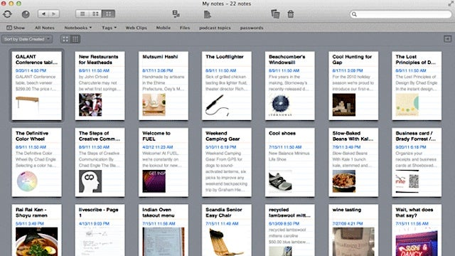 Evernote for iOS and Mac Updates with New Card View, Notes Editor, Audio Recorder, and More