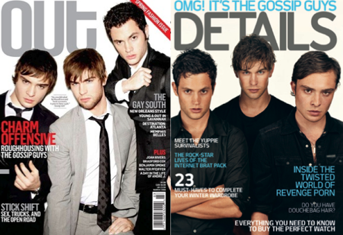 Details' Gayness Increases Tenfold With Gossip Girl Cover