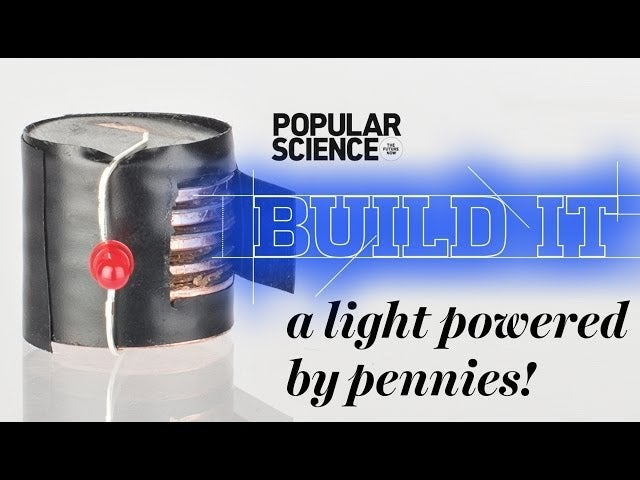 how to make a battery from pennies