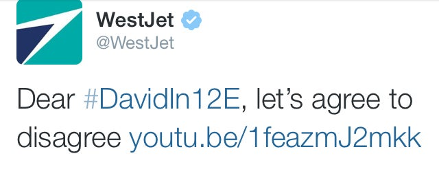 "WestJet Responds To Sexist #DavidIn12E With ""Women In Aviation"" Video"