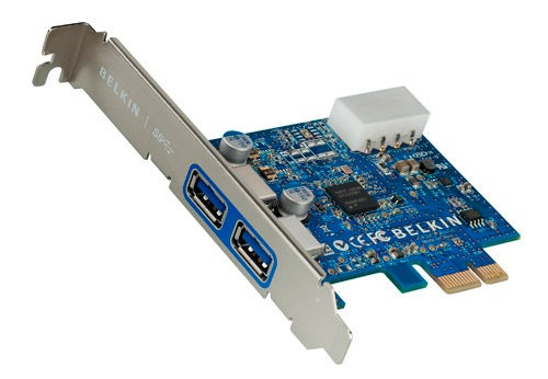 Belkin' SuperSpeed USB 3.0 PCIe Card and ExpressCard Grant Older PCs USB 3.0 Powers