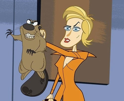 See Jane Lynch's possessed beaver!