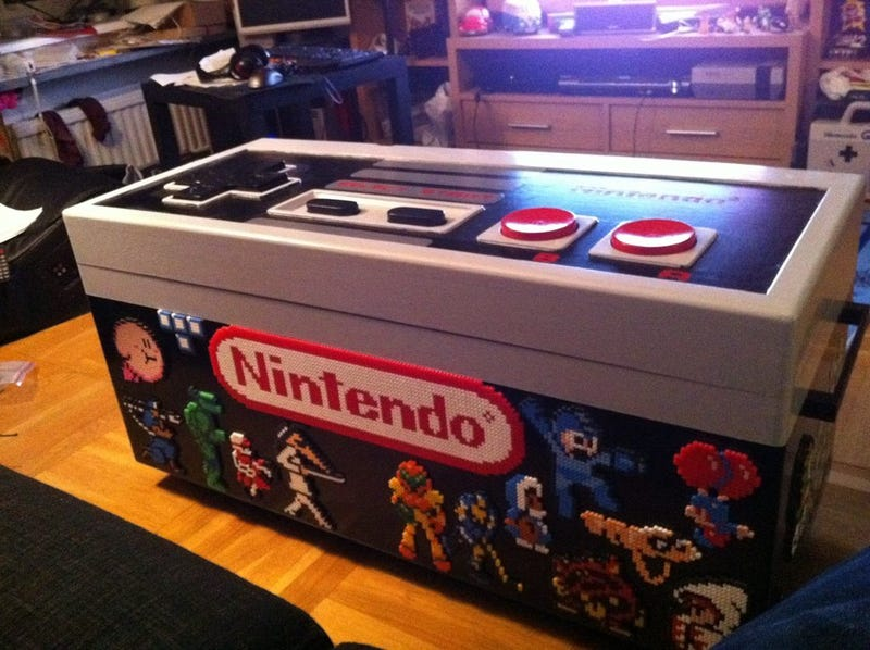 This Coffee Table Is A Giant Working Nintendo Controller