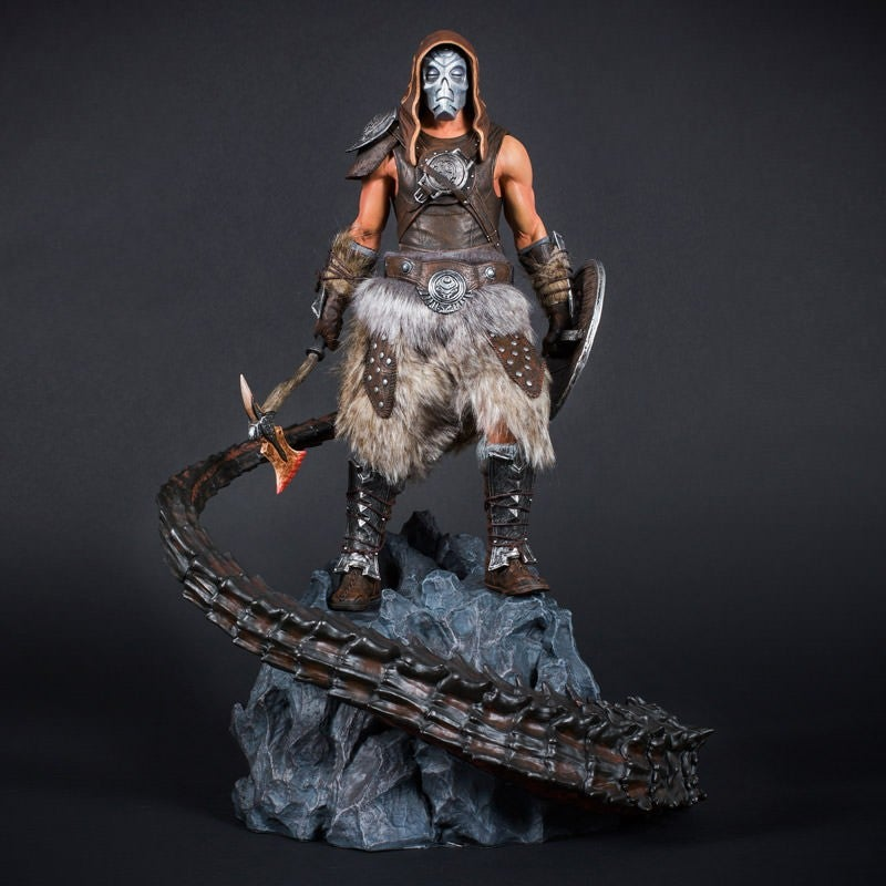 Finally, A Dragonborn Statue For The Dragon Priest Fans