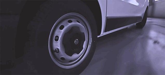 Watch A Top Gear Stunt Driver Run This Van Through 'Quality Control'