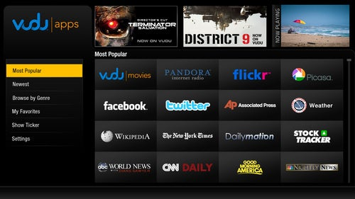 Vudu Brings Apps, By The Hundreds, To Big Name TVs and Blu-ray Players