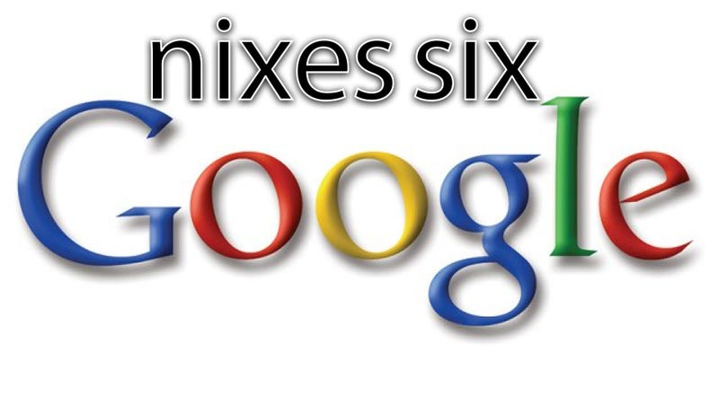 If Google Axes Six Unpopular Brands and Nobody Is Around to Use Them, Does Their Demise Make a Sound?