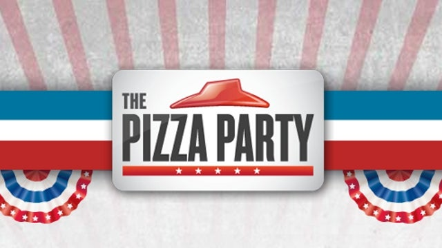 Want Free Pizza Hut Pizza for Life? Just Make a Mockery of the American Democratic System on Live TV