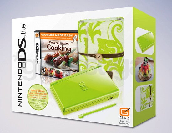 Lime Nintendo DS Cooking Bundle Will Make Martha Stewart Happy