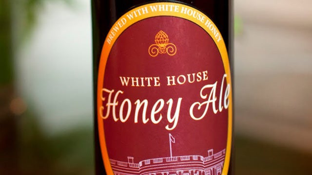 Official Beer from the White House Bee Hive