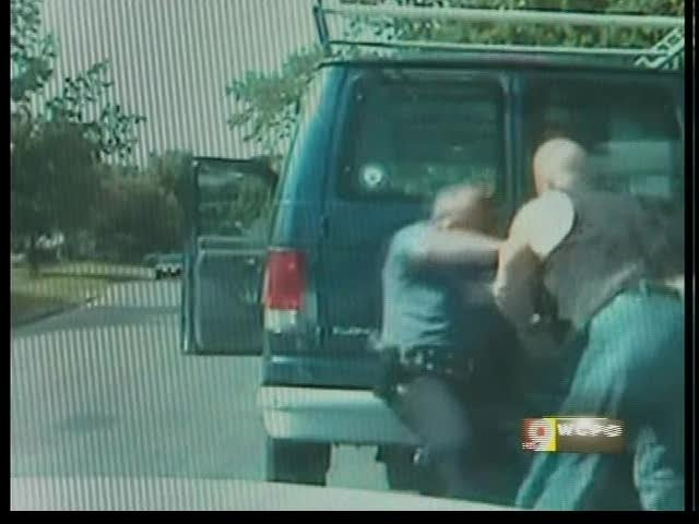 VIDEO: Don't Punch A Cop If You Get Pulled Over