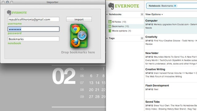 Booknote Importer Sends All Your Bookmarks to Evernote