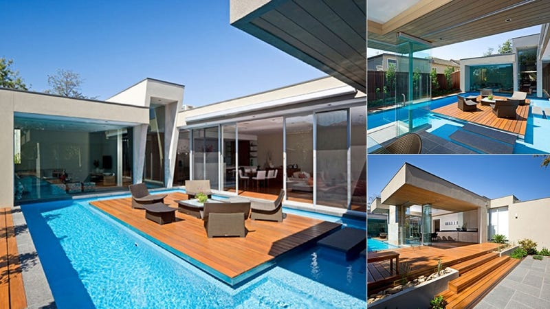 This House Has a Pool With an Island and Nothing Else Matters