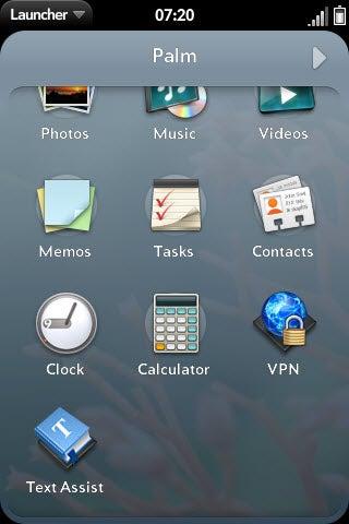 WebOS 2.0 Gallery