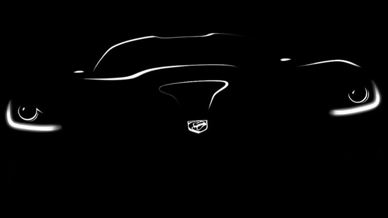 2013 SRT Viper: First 'Photo'