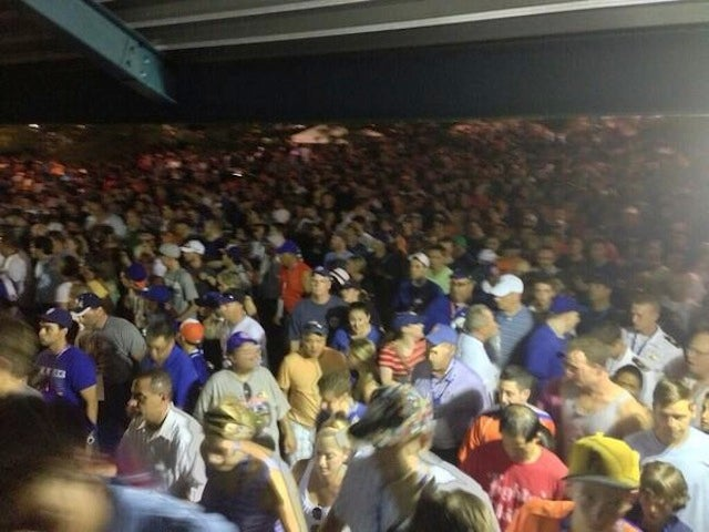 A Fire On The 7 Train Strands Crowds Leaving Home Run Derby