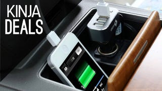 Put Four Fast USB Ports In Your Car For $8