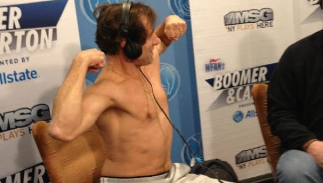You Never Wanted To See A Photo Of Chris Russo Shirtless, But Here It Is Anyway