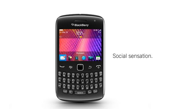 Today in the BlackBerry Holiday Hall of Fame: the BlackBerry Curve
