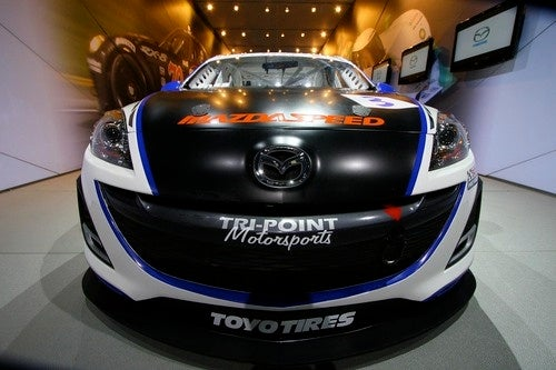Shiny Happy Track Stars: The Mazda 3 World Challenge Car