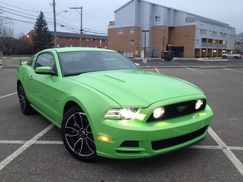 What is the best shade of green a stock production car has come in?