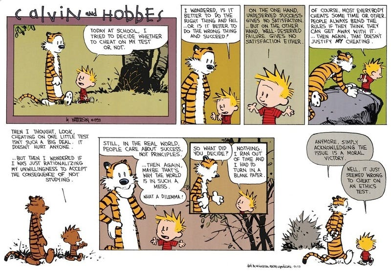 Calvin and Ethics