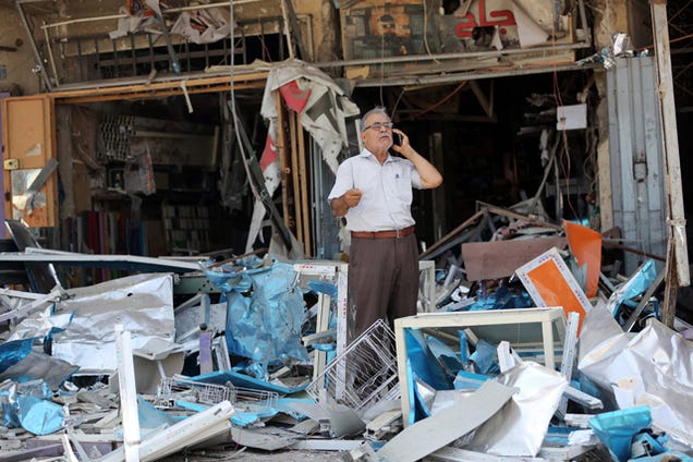 Suicide Bomb Kills At Least 20 in Baghdad
