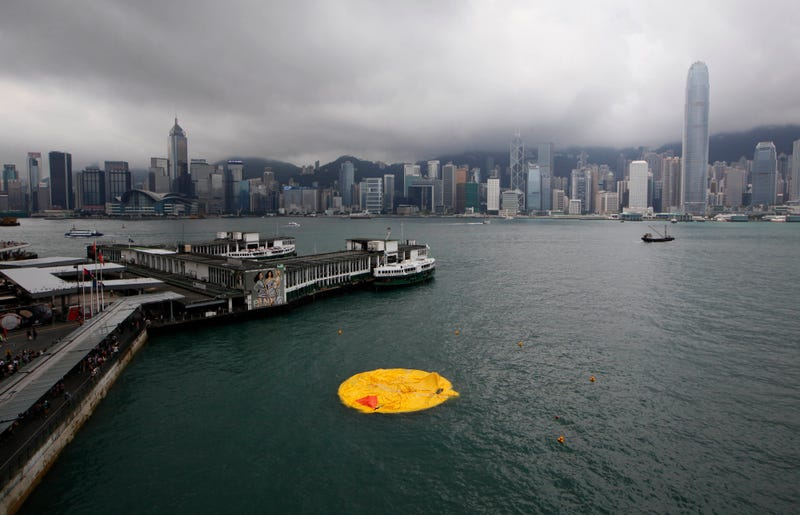 Giant Rubber Duck Found Deflated Under Mysterious Circumstances